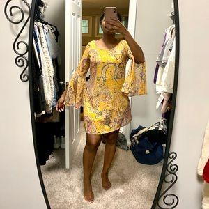 Prefect yellow spring dress